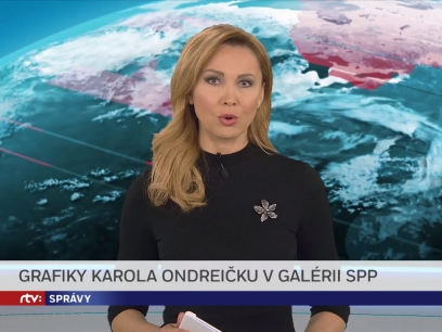 About our exhibition in the main news on RTVS